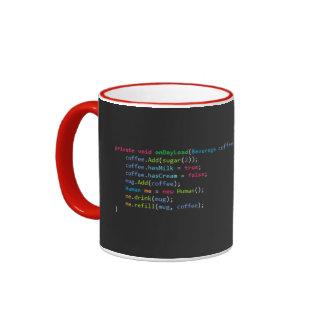 ¡Taza del programador! Taza De Dos Colores