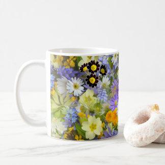Taza del ramo del Wildflower