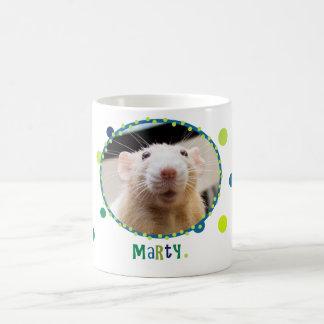 Taza del ratón de Marty - con los lunares