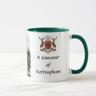 Taza del recuerdo - Nottingham
