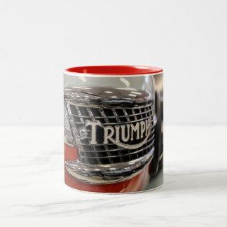 Taza del regalo de la fan de la moto