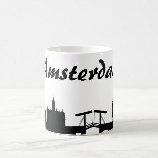 Taza del regalo de la señal de Amsterdam