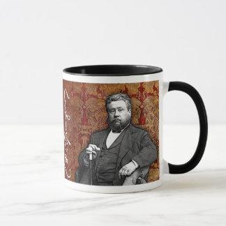 Taza del regalo de Spurgeon - hombre de rezo