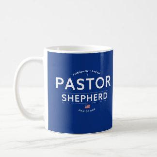 Taza del regalo del aprecio del pastor con la