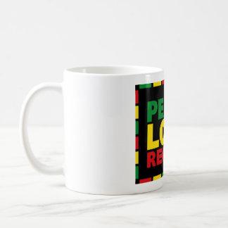 Taza del reggae - reggae del amor de la paz