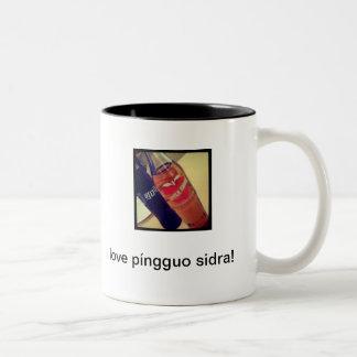 Taza del sidra de Pingguo
