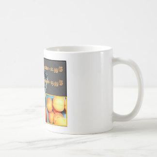 Taza del té de la fruta
