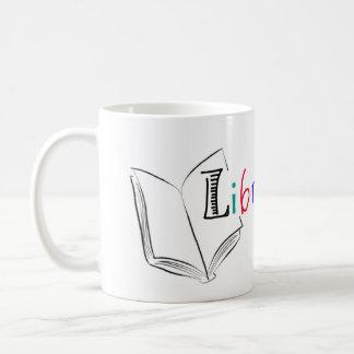 Taza del té del bibliotecario