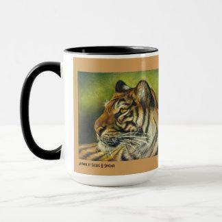 Taza taza del tigre de 15 onzas