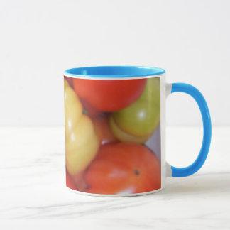 Taza del tomate taza