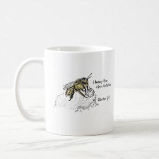 Taza del trabajador de la abeja de la miel de MABA