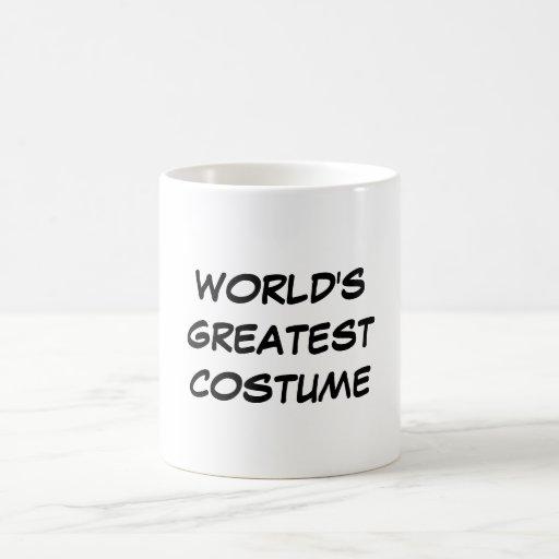 """""""Taza del traje más grande del mundo"""""""