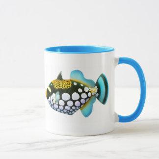 Taza del Triggerfish del payaso