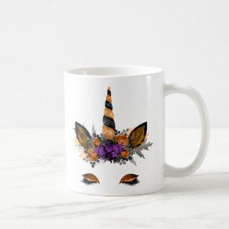 Taza del unicornio de Halloween