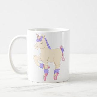 Taza del unicornio del ballet