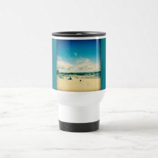 Taza del viaje de la playa