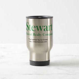 Taza del viaje de los bienes raices de Stewart