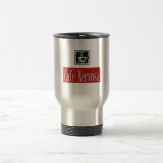 Taza del viaje de Nervosa del café