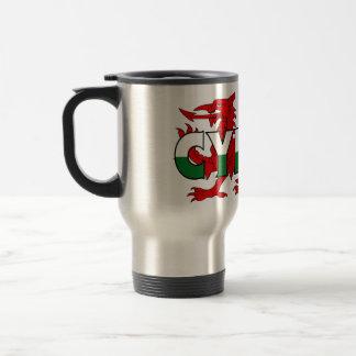 Taza del viaje de País de Gales