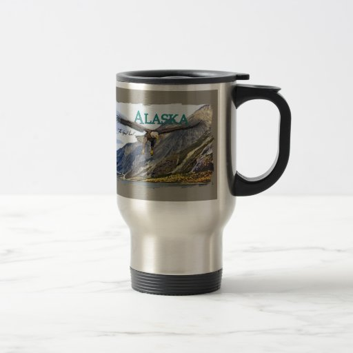 Taza del viaje del acero inoxidable de Alaska