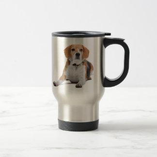 Taza del viaje del acero inoxidable de los beagles