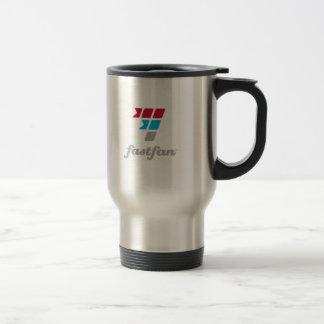 taza del viaje del acero inoxidable del fastfan™