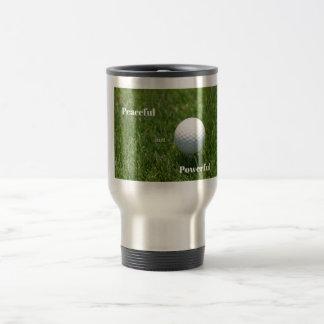 Taza del viaje del golfista