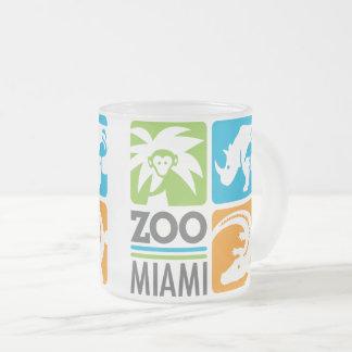Taza del vidrio esmerilado de Miami del parque