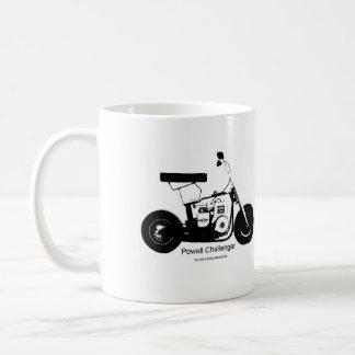 taza del vintage de la bici del desafiador de