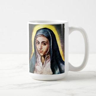 Taza del Virgen María de El Greco