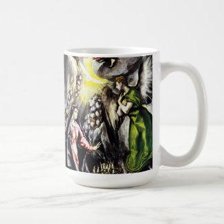 Taza del Virgen María del anuncio de El Greco