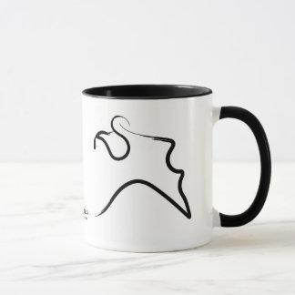 """Taza del zodiaco de Gaudesse del """"acuario"""""""