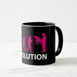Taza Devolution Evolution Funny Reissue