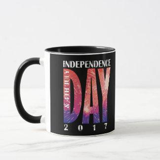 Taza Día de la Independencia y 4 de julio los E.E.U.U.