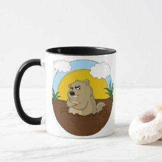 Taza Día de la marmota