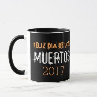 Taza Diámetro de los Muertos 2017 de Feliz