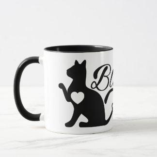 Taza Dicha y gatitos de Oracle de los gatos de la