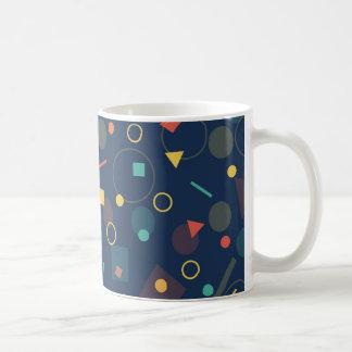 Taza diseñada geométrica de la taza de café de