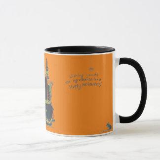 Taza Diseño asustadizo del Brew de la caldera de la