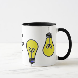 Taza Diseño brillante de las ideas de la bombilla