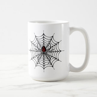 Taza disimulada de Halloween de la araña