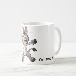 taza divertida del burro