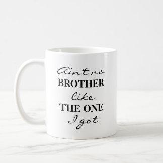 Taza divertida del té del café de Brother