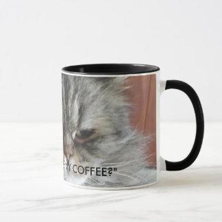 """TAZA ¿""""DÓNDE ES MI CAFÉ?"""