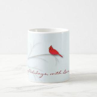 Taza Editable cardinal roja