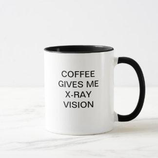 TAZA EL CAFÉ ME DA LA RADIOGRAFÍA VISION