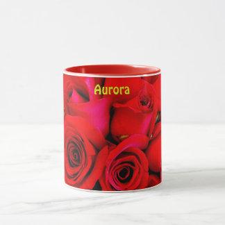 Taza El ~ de la AURORA personalizó el ~ de la