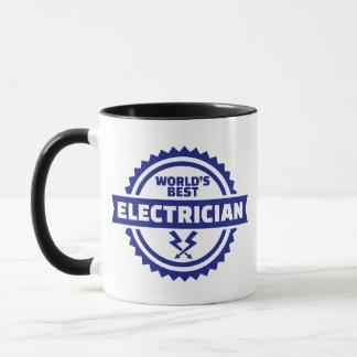 Taza El mejor electricista del mundo