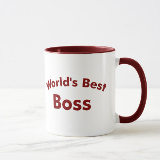 Taza El mejor jefe del mundo