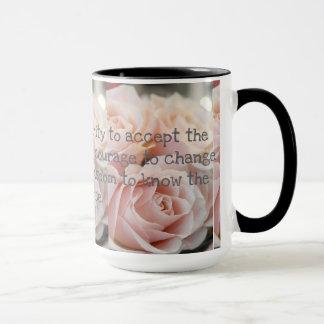 Taza El negro de encargo los rosas del campanero de 15